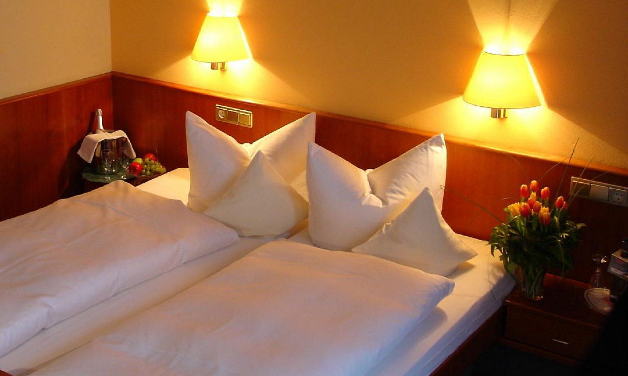 Komfort Zimmer im Hotel garni An den Salinen Bad Dürkheim